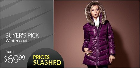 Buyer's pick - Winter coats