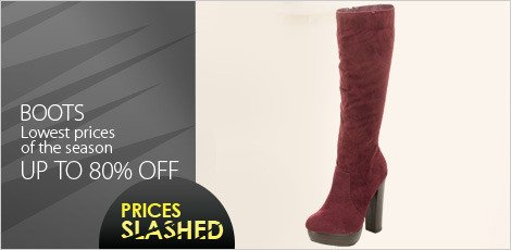 Boots - Lowest Prices of the Season