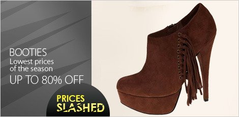 Booties - Lowest Prices of the Season
