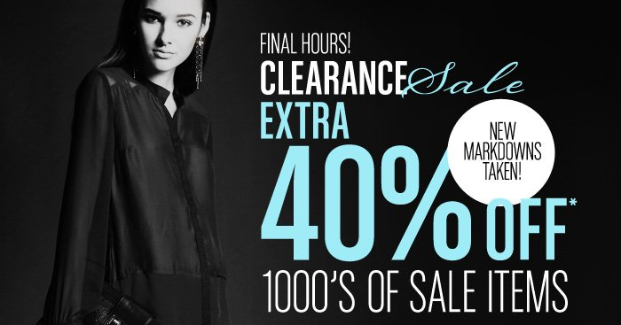 Save Extra on 1000's of Sale Items