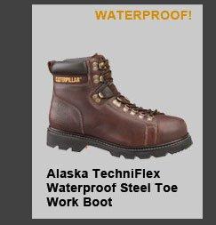 Alaska Techniflex Waterproof Steel Toe Work Boot