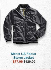 MEN'S UA FOCUS STORM JACKET - $77.99