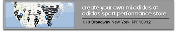 create your own mi adidas at  adidas sport performance store | 610 Broadway New York NY 10012