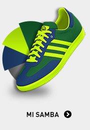 Create Your Own mi Samba Shoes »