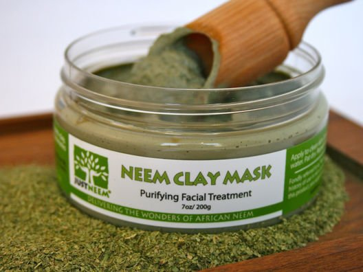 Neem Clay Mask + Neem Oil with Dropper from Sue Devitt