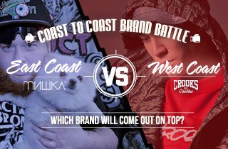 Mishka Vs. Crooks & Castles