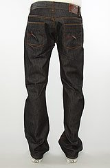 The Chronicle True Straight Fit Jeans in Raw Indigo Wash