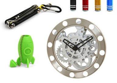 Shop Kikkerland Clocks & Funky Decor