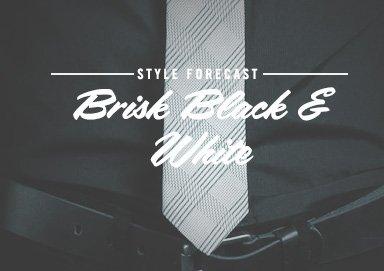 Shop Style Forecast: Brisk Black & White