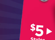 Shop $5 Styles