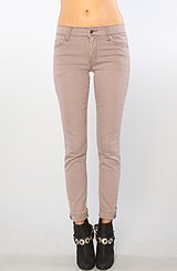 The Tight Skinny Jean in Dusty Lilac