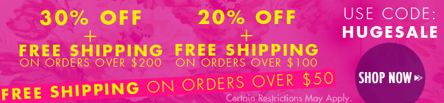 Huge Sale on Miss KL! 30% Off + Free Ship on orders over $200!
