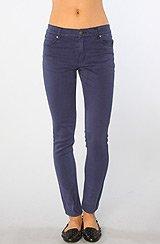 The Tight Hi-Waist Skinny Jean in OD Worker Blue