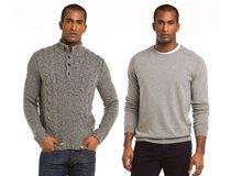 Sweater Weather Men's Cashmere Crewnecks & More