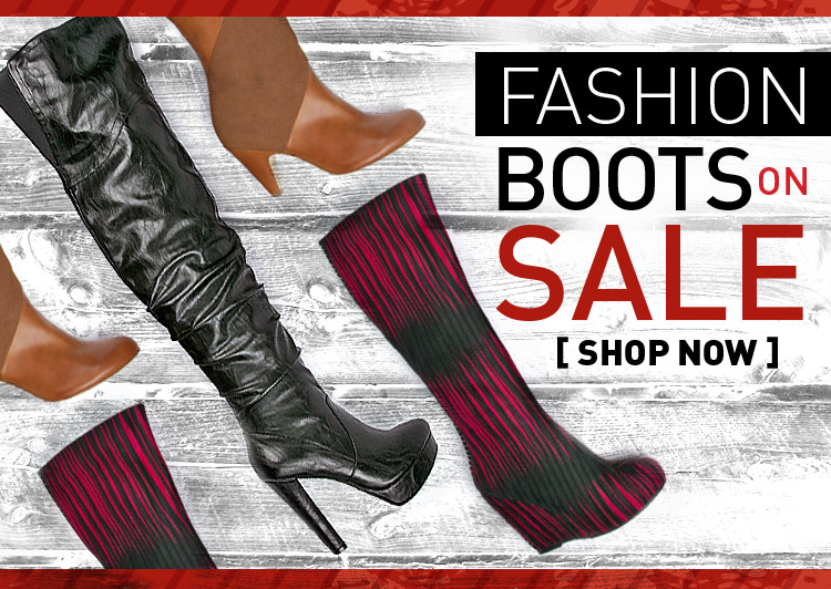 Attention! Save on fashion boots.