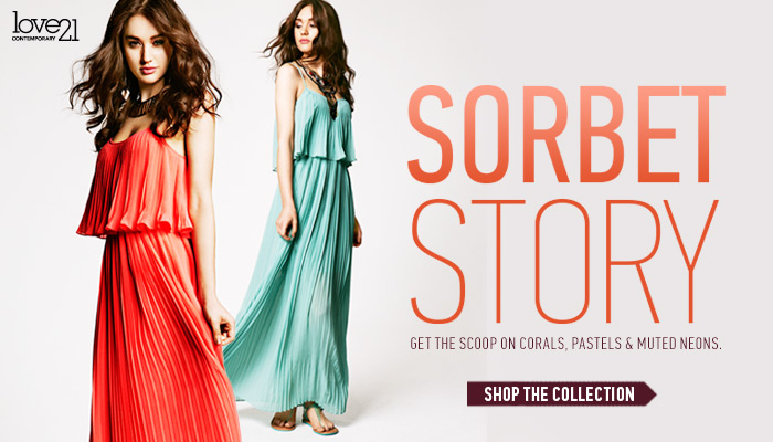 Love21: Sorbet Story - Shop Now