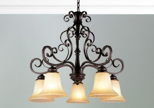 Transitional Flourishes: Lighting & Furniture