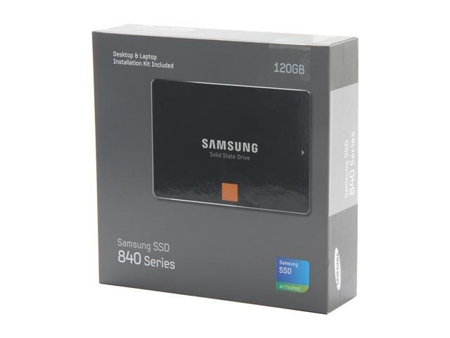 SAMSUNG 840 Series MZ-7TD120KW 2.5 inch 120GB SATA III Internal Solid State Drive (SSD)