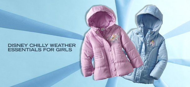 DISNEY CHILLY WEATHER ESSENTIALS FOR GIRLS, Event Ends January 17, 9:00 AM PT >