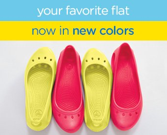 your favorite flat now in new colors