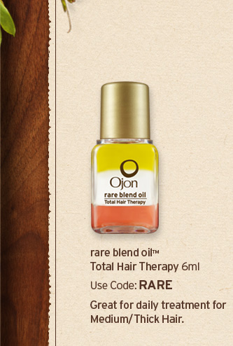 rare  blend oil Total Hair therapy 6ml Use code RARE Great for daily Tratment  for medium thick hair