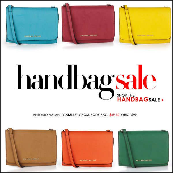 The Handbag SALE -- Save on 100s of styles