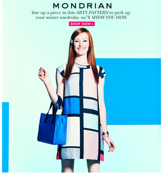 mondrian. shop now.