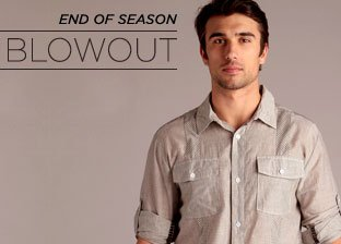 End of Season Blowout: Men's Apparel