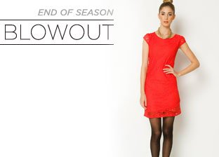 End of Season Blowout: Party Dresses