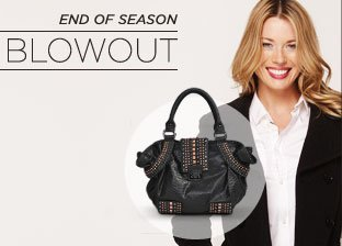 End of Season Blowout: Outerwear & Handbags