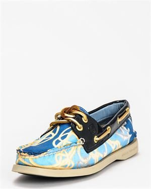 A/O Sea Printed Boat Shoe $59
