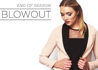 End of Season Blowout: Tops for Her