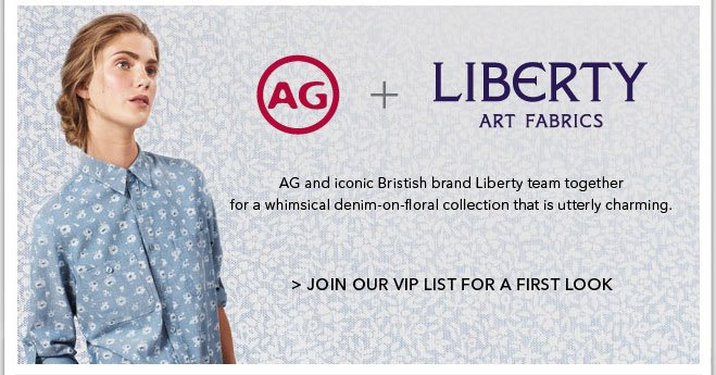 Join Our VIP List for a First Look