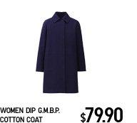 WOMEN DIP G.M.B.P. COAT