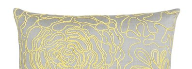 Posy Yellow 18in Pillow $34.95