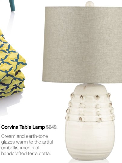 Corvina Table Lamp $249.