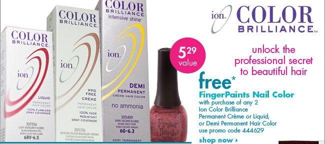 free* FingerPaints Nail color