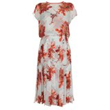 Paul Smith Dresses - Cut Up Floral Pleated Skirt Dress
