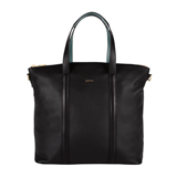 Paul Smith Handbags - Black Zip Top Tote Bag