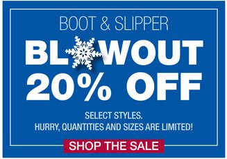 Boots & Slippers Sale