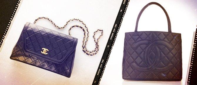 Louis Vuitton Hermes & Chanel