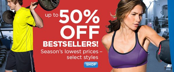 Season's Lowest Prices on Select Bestsellers
