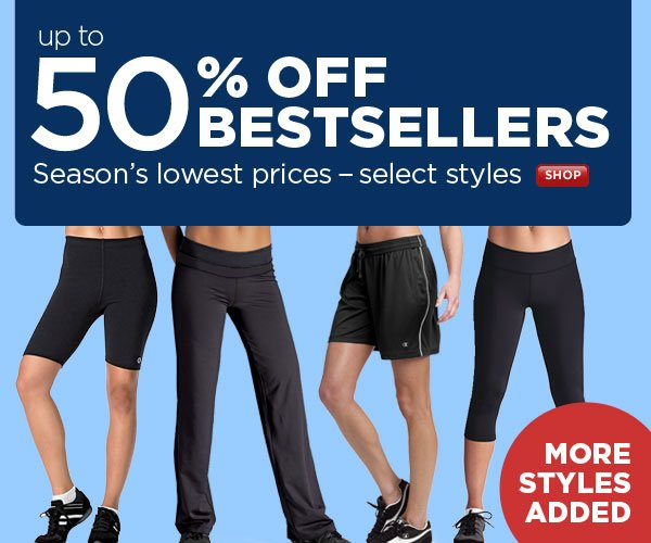 Up to 50% OFF Select Bestsellers