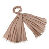 Paul Smith Scarves - Taupe Herringbone Birdy Scarf