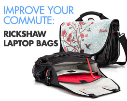 Improve Your Commute: Rickshaw Laptop Bags