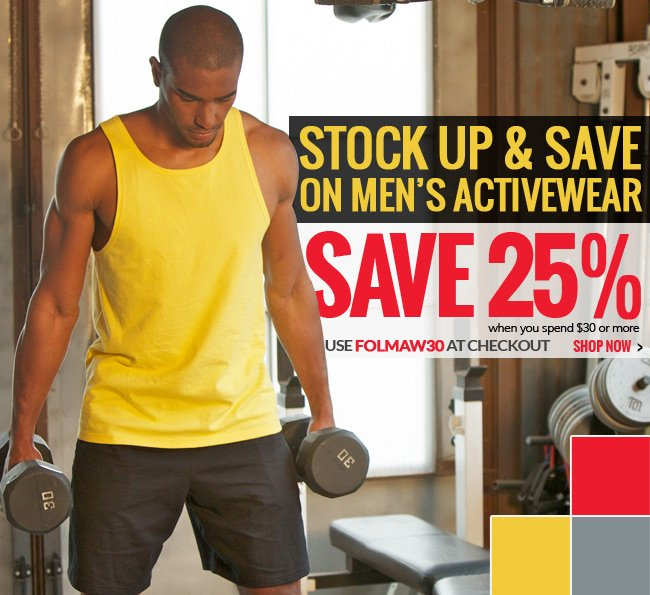 Shop Fruit of the Loom Men's Activewear
