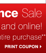 Print coupons >>