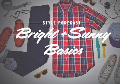 Shop Style Forecast: Bright+Sunny Basics