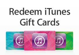 Redeem iTunes Gift Cards