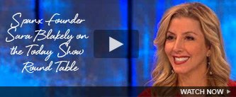 SPANX Founder Sara Blakely on the Today Show Round Table. Watch Now!